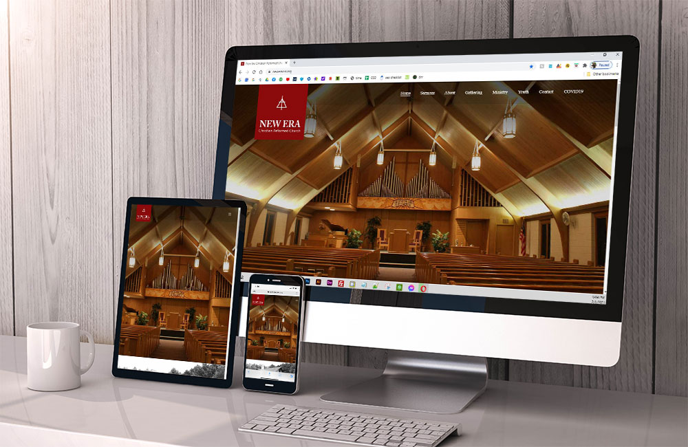 new era christian reformed church website design