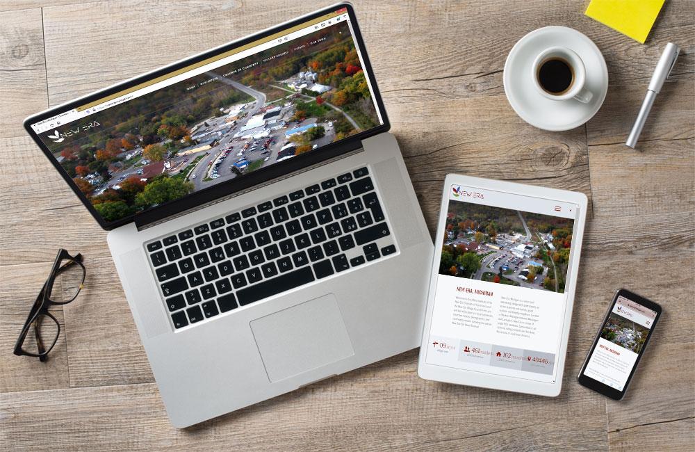 new era michigan website design